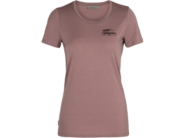 Icebreaker Tech Lite SS Low Crew Shirt The Good Life Women, suede